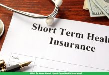 What To know About Short-Term Health Insurance